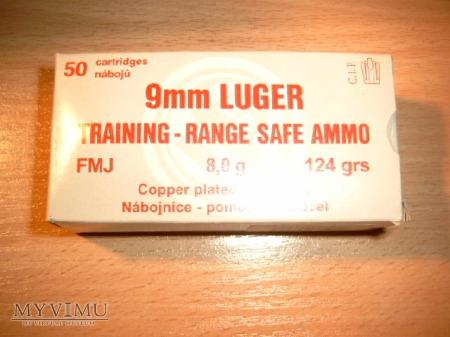 Karton na amunicję 9x19 LUGER