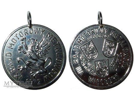 IX Rajd Motorowy Metalowców Bydgoszcz medal 1972