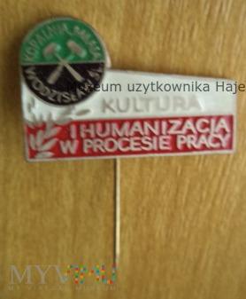 KWK 1 Maja Kopalnia Wodzisław Śl odznaka