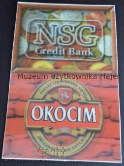 OKOCIM reklama piwa 3 D trójwymiarowa