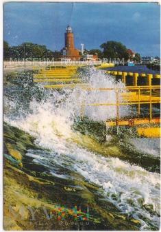 Kołobrzeg - latarnia morska - po 1990