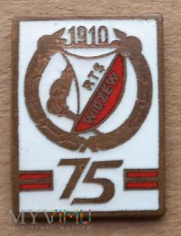 Widzew Łódź 27 - 75 lat biała