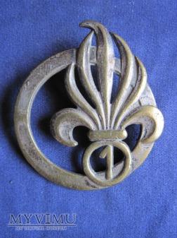 Duże zdjęcie Odznaka 1REC beret/Algieria