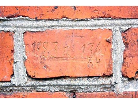 """Duże zdjęcie """"Stara Prochownia"""" - budynek A - inskrypcja #035"""