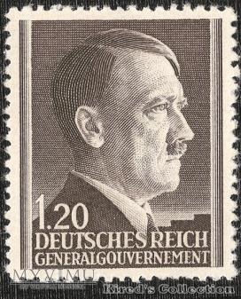 "1,2 złotego ""Portret Adolfa Hitlera"""