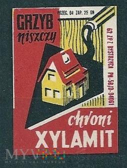 Grzyb niszczy chroni Xylamit.1.1962.Bystrzyca
