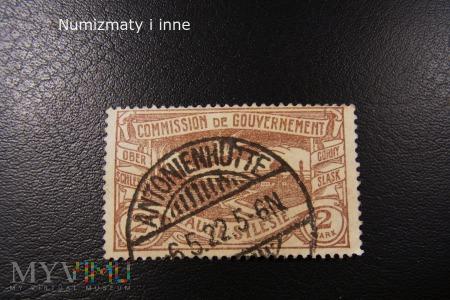 znaczek śląski plebiscytowy-Wirek