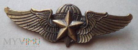 Odznaka spadochronowa spadochroniarza