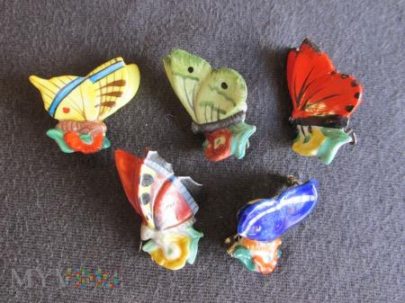 Motyle porcelanowe-KWHW