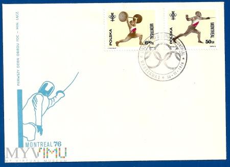 XXI Igrzyska Olimpijskie w Montrealu.30.6.1976.a