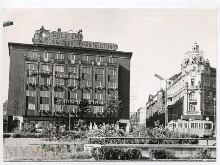 Katowice - Rynek- fragment - lata 60-te