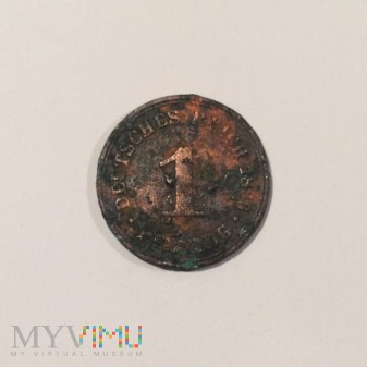 1 Pfennig 1896, Cesarstwo Niemieckie [A]