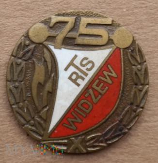 Widzew Łódź 28 - 75 lat brązowa
