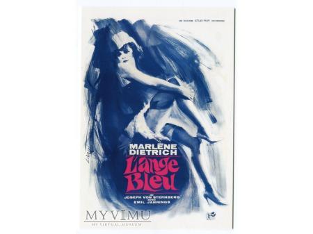 Marlene Dietrich Błękitny Anioł Affiche de Landi