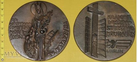 Medal kolejowy - społeczny KDK