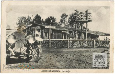 Eisenbahnstation Lesnaja
