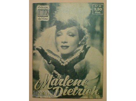Marlene Dietrich IDOLOS DEL CINE 1958