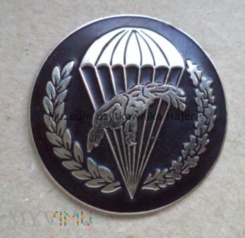 Odznaka spadochronowa WPD 6 PDPD - czarna