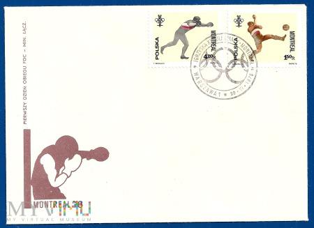 XXI Igrzyska Olimpijskie w Montrealu.30.6.1976.b