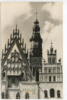 Wrocław Breslau - Ratusz - lata 50-te