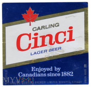 Carling Cinci Lager Beer