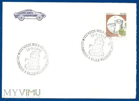 Włochy-Specjalna pieczęć.16.5.1992