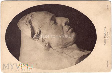 Chopin - Maska pośmiertna - I ćwierć XX wieku