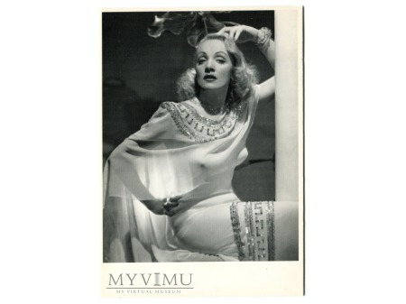 Marlene Dietrich photo fabulous cigarette postcard