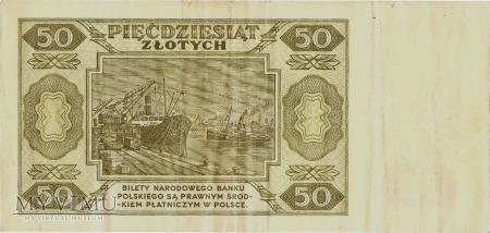50 złotych, 1948 rok.