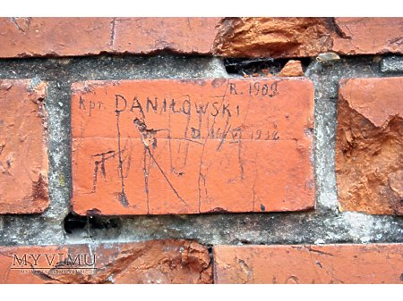 """Duże zdjęcie """"Stara Prochownia"""" - budynek A - inskrypcja #036"""