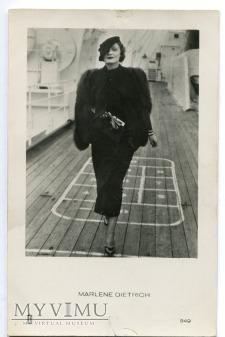 Marlene Dietrich MARLENA JOSPE Holandia nr 549