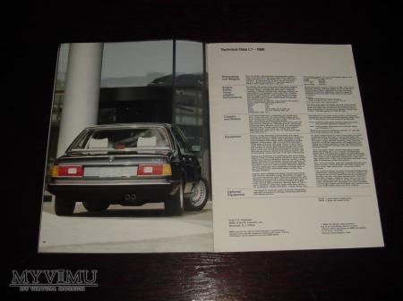 Prospekt BMW L7