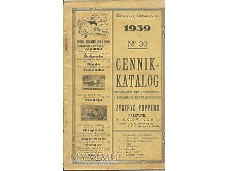 Duże zdjęcie Cennik - katalog znaczków.