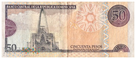 Dominikana - 50 pesos (2012)