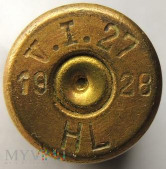 Nabój ćwiczebny 8x58 R Krag V.I.27 28 HL 19
