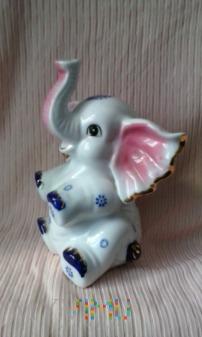 Siedzący słoń