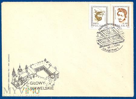 Głowy Wawelskie-25.9.1982