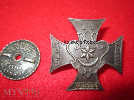 Zolnierska odznaka 16 Pułk Piechoty