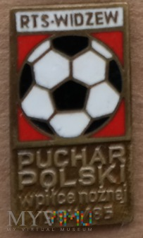 Widzew Łódź 30 - Puchar Polski 85 - brązowa