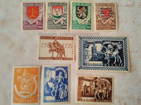 pomoc zimowa Belgia 1940-43