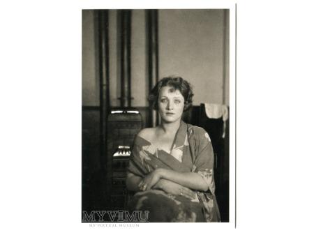 Marlene Dietrich pocztówka Emil Orlik c. 1924