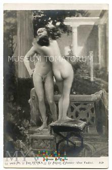 Quo Vadis - Eunice całuje posąg - Styka