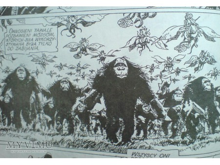 SZNINKIEL Rosiński & Van Hamme komiks 1988