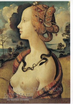 Cosimo - Simonetta Vespucci - Akt z wężem