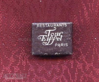 Cukier w kostkach - Paryż - Tour Eiffel