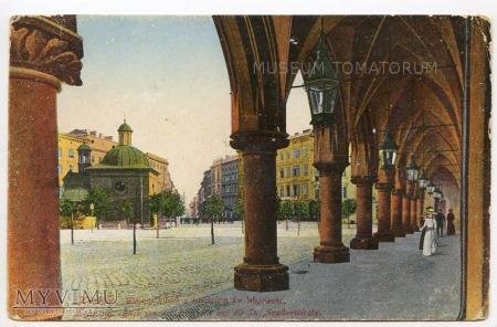 Kraków - Rynek - Sukiennice - Arkady - 1913