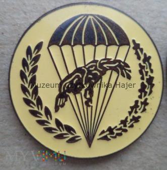 Odznaka spadochronowa WPD 6 PDPD - biała