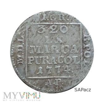 1774 - ODMIANA 15.f2? (nie notowany)