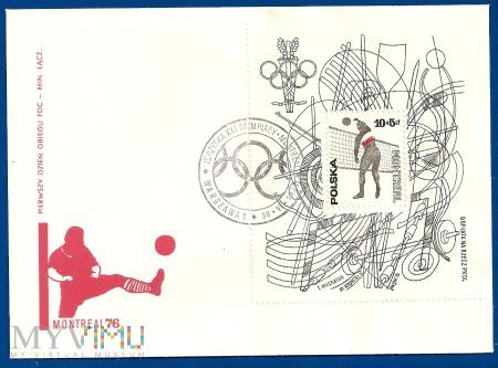 XXI Igrzyska Olimpijskie w Montrealu.30.6.1976.d