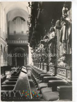 Wrocław - Katedra wnętrze -1957
